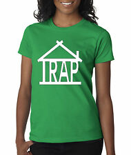 New Way 390 - Women's T-Shirt Trap House Adult Funny Humor