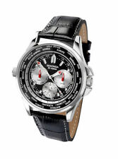 Multidial da Uomo Sekonda World Time Orologio 3458 RRP £ 69.99
