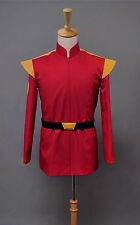 Sitcom Futurama Captain Zapp Brannigan Red Uniform Cosplay Costume Tailored