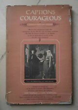 CAPTIONS COURAGEOUS REISNER KLAPPLOW 1958