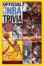 Official NBA Trivia: The Ultimate Team-by-Team Challenge for Hoop Fans-ExLibrary