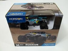 Ruckus 1/24 scale monster truck for parts or repair Tamiya,Kyosho