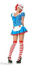 Raggedy Ann Ragdoll Costume Size 10/12 Fun for Halloween!