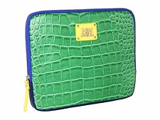 JUICY COUTURE GREEN CROCO IPAD CASE ORG. $48.00 BNWT MINT