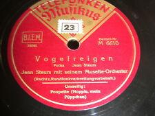 6/4L Jean Steurs m.s. Musette Orchester - Vogelreigen - Poupette