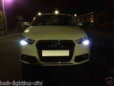 AUDI A1 W21 Led DRL DAY TIME RUNNING ERRORE CANBUS libero 6500K XENON bianco 7440
