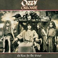 OZZY OSBOURNE No Rest for the Wicked CD 1995 REMASTER