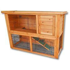 Clapier grand espace / Cage à lapin en bois / Cabane pour lapin ou rongeur
