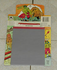 vintage 1983 Golden THE INCREDIBLE HULK MAGIC SLATE