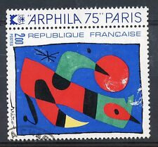 STAMP / TIMBRE FRANCE OBLITERE N° 1811 TABLEAU ART / ARPHILA 75 MIRO
