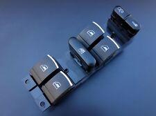 Für VW Golf 4 Bora Passat 3B 3BG Seat Leon Toledo Chrom Fensterheber Schalter-