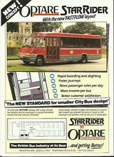 OPTARE STAR RIDER FAST FLOW RANGE SALES 'BROCHURE'/SHEET LATE 80's?