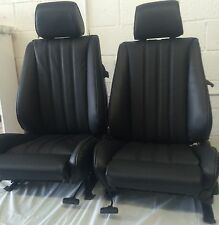 BMW e30 325i 318i New Front Sport Seats For IS & I 1982-92 in Black  $1000