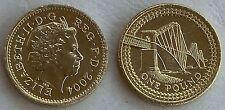 Großbritannien / Great Britain 1 Pound 2004 p1048 unz.