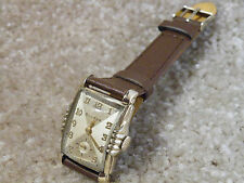 "Vintage 1953 Bulova ""President"", 21 Jewel, Mans Watch,***Gorgeous & Works***"