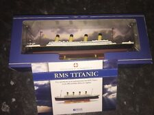 Atlas Editions - RMS Titanic luxury liner 1:1250  New With COA 21.5cm long