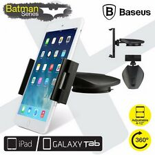 "BASEUS Batman 360 Rotating Car Holder Universal Suction Mount 4-12"" Tablets iPad"