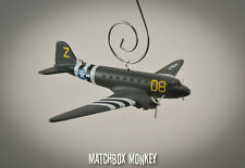 WWII C-47 Dakota Gooney Bird USAF Airplane Aircraft Custom Christmas Ornament