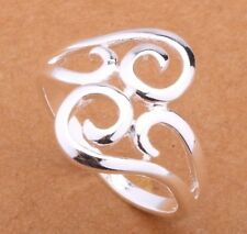 925 Sterling Silver Ring Size 9 Band Hot Fashion Jewelry Stunning Gift