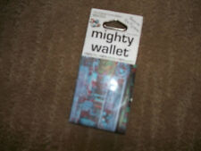 NEW ~ MIGHTY WALLET Thin TYVEK  Long Lasting WALLET ~3D Roof New York Design