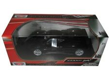 MOTORMAX PAGANI ZONDA F BLACK 1/24 DIECAST CAR MODEL 73369