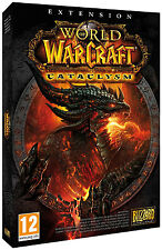 18142 // WORLD OF WARCRAFT EXTENSION CATACLYSM POUR PC NEUF