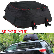 Roof Top Cargo Bag Waterproof Carrier Storage Luggage Car SUV Rooftop Travel