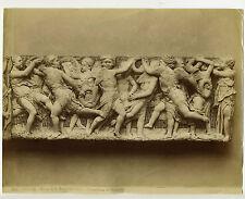 Italy - Firenze, Donatello Bas-Relief, Museo S. Maria del Fiore - Albumen Print