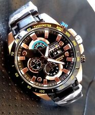 Casio Edifice Men's Wristwatch EFR-540 BC RED BULL BLACK ROSE GOLD CHRONOGRAPH