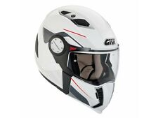 HX01DB91054 DEMIJET CROSS HELMET GIVI TOURER MODEL WHITE TG54