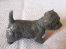 STATUINA IN METALLO FUSO - CANE WEST HIGHLAND TERRIER