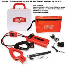 Weego Powerful Battery Jump Starter 44 For Car, Truck, Boat, ATV, Snow Mobile...