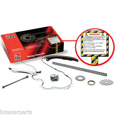NEW COMPLETE FAI TIMING CHAIN KIT OPEL CORSA C 1.0 00-03 Z10XE