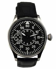 Pilot Navigator mechanical watch 44 mm ss case 6497 Seagull movement.