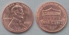 USA 1 Cent Lincoln 2015 P unz.