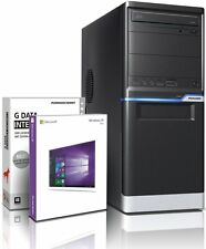 PC Quad Core Computer Allround A10 5745 8GB 1TB Rechner Komplett Windows 10