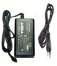 EU European AC Adaptor for Sony AC-L25C AC-L200 AC-L200B AC-L200C AC-L200D