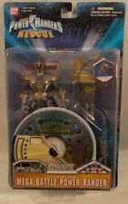 "Power Rangers Lightspeed Rescue 5"" Mega Battle Titanium Ranger Interactive CD"
