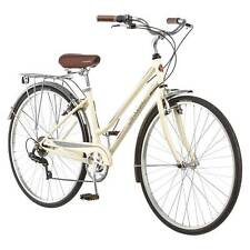 "28"" 700C Schwinn Bike - Women's Gateway Hybrid Bike - Cream color"