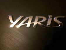 Toyota Yaris,Corolla, Auris. rear talegate badge