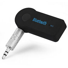 New 3.5mm Wireless Aux Stereo Mini Bluetooth Music Audio Stereo Adapt Fit Nissan