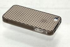 Pattern Soft Jelly Back Case For Apple iPhone 4G/4S (Black)