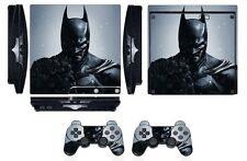 Skin Sticker Cover for PS3 PlayStation 3 Slim and 2 controller skins Hero Q252