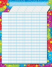 Stars n Swirls Design Large Incentive Wall Reward Chart