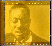 BIG BILL BROONZY southern blues CD tracks from 78rpm Catfish OOP