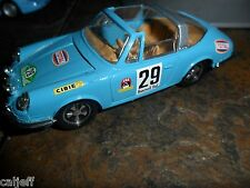 1/43 Eligor France Lt Blue Porsche 911 Targa Rallye 1968 Diecast Toy Car 29 mint