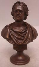 Superb Bronze Bust of Tsar Peter the Great - 1st Emperor of Russia