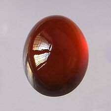 Natural Untreated Hessonite Garnet 16X12 MM Cabochon Gemstone Oval Shape