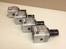 LOT of 4 Samsung SCC-B1310N CCTV Camera w/ 3.5-8mm Manual Iris Lens Color Cam