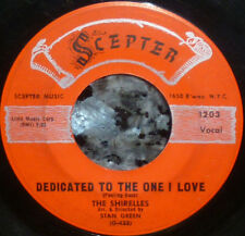 "* * 1959 1st pressing ""DEDICATED TO THE ONE I LOVE"": SHIRELLES CLEAN VG/VG+ 45!"